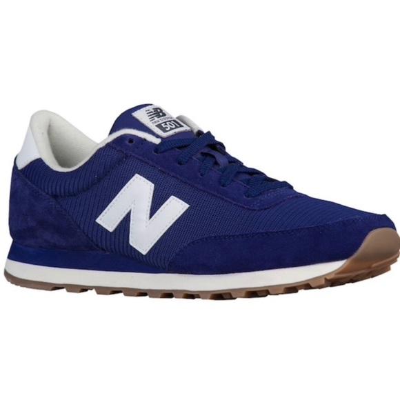 New Balance 5 Athletic Shoes Navy Blue